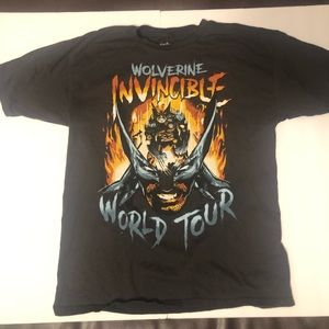 Vintage Wolverine Invincible World Tour TShirt